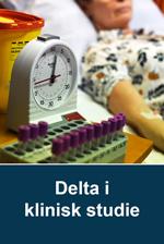 Delta i klinisk studie