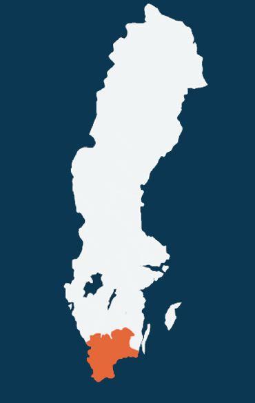 Forum Söder är regional nod för Södra sjukvårdsregionen, där Region Skåne, Region Halland, Region Kronoberg och Region Blekinge ingår
