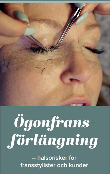 broschyr CAMM ögonfransförlängning